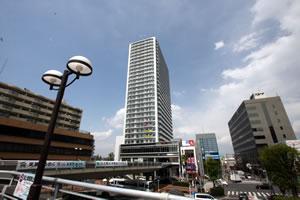 JR高崎線上尾駅、エージオタウン2階